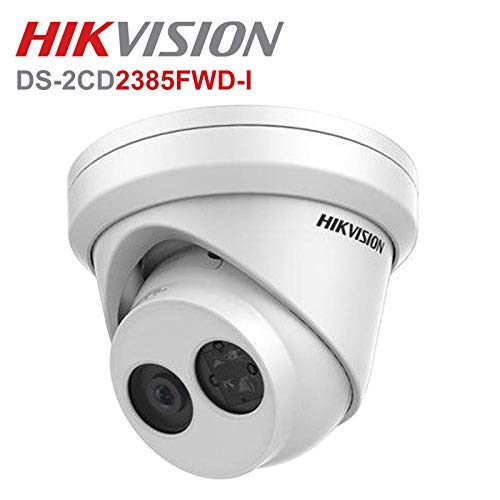 - Hikvision 8 Megapixel IP Camera , H.265+ DS-2CD2385FWD-I Dome Security Camera Outdoor IP67 firmware upgradeable International Version (2.8mm lens)