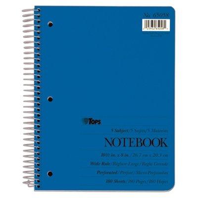 amazon com top65058 tops theme notebook toys games