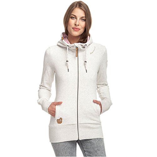 Deportiva Mujer chaqueta Blanco Deportiva chaqueta Ragwear Mujer Ragwear EOpzqTT
