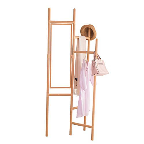 Baoyouni Foldable Garment Rack Coat Hanger Hall Tree Entrywa