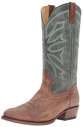 Stetson Mens Gunsmoke Western Boot Brown B