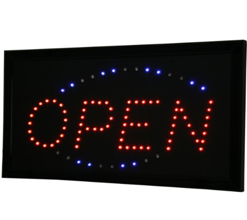InkBed Animated Super Bright LED Studio Shop Open Sign Tattoo - Perimeter Mall Shops