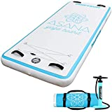 Driftsun Asana Inflatable Water Yoga Mat Tumbling Track Platform, Aquatic Fitness, Gymnastic Tumbling or Relaxing Meditation On or Off The Water