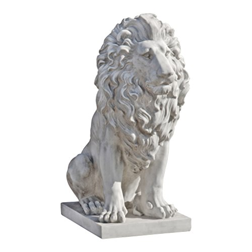 outdoor lion statues - 4