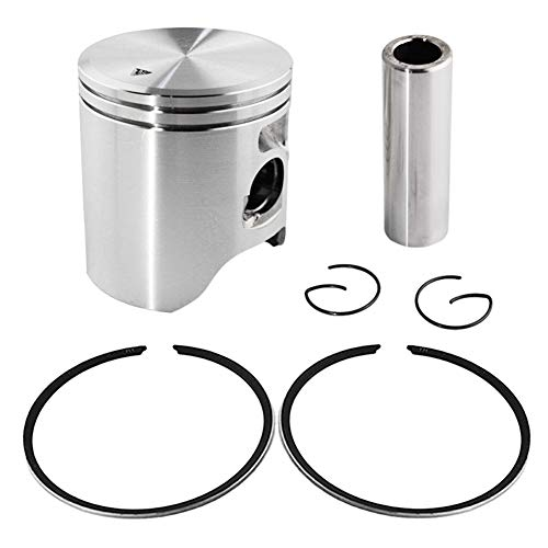 Price comparison product image Engine Piston and Rings Set for YAMAHA TZM150 Road Passion (Oversize +25 59.25mm;1 Set)
