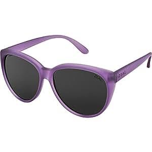 Zeal Optics Dakota Polarized Sunglasses - Women's Aurora Frame with Dark Grey Lens