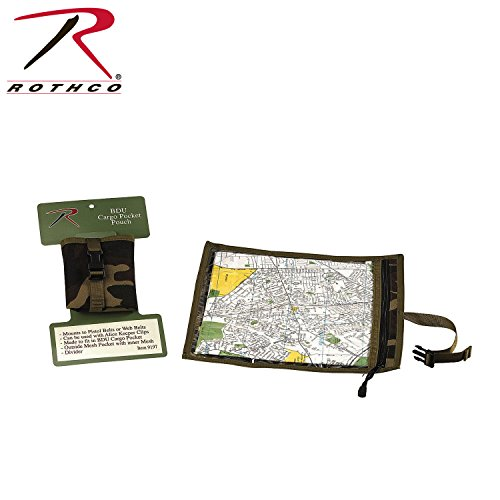 Rothco Map and Document Case, Woodland Camo