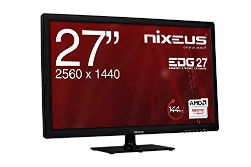 Nixeus EDG 27″ IPS 1440p 144Hz FreeSync monitor