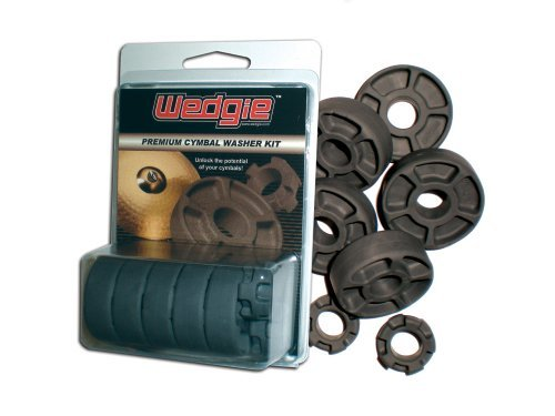- Wedgie WCW001 Wedgie Premium Cymbal Washer, 7 Pieces Kit, Single Package