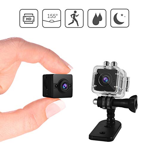 Cheap Lionsoul Mini Hidden Spy Camera, WiFi Wireless 1080P HD Waterproof Portable Sport IP Security Camera with Motion Detection/Night Vision for iPhone/Android Phone/iPad/PC