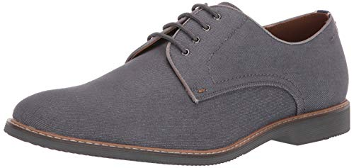 Steve Madden Men's Nevins Oxford Grey Fabric 10 M US