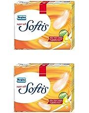 Regina Softis chusteczki higieniczne, super miękkie, z balsamem z aloesu, 4-warstwowe, 60 sztuk