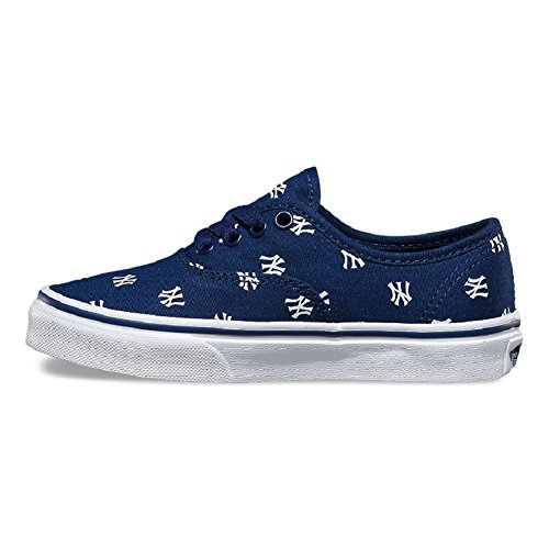 b355f08d1a Galleon - Vans Unisex MLB Authentic Skate Shoes-New York  Yankees Navy-5.5-Women 4-Men