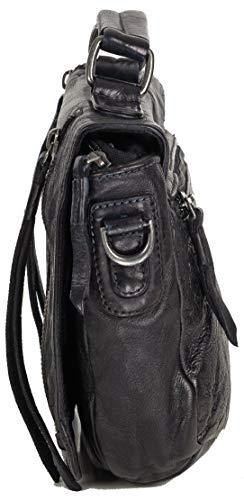 cm Black à main Sac 27 Jip cuir FREDsBRUDER wnUHqSx0