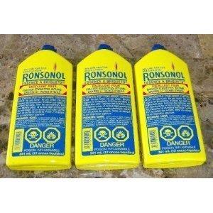 037900990636 - LOT of 3 Bottles Ronsonol 12 Oz Best Lighter Fluid These Are the Jumbo Bottles! by BUTANE & LIGHTER FLUID carousel main 0