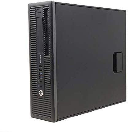 HP EliteDesk 800 G1 SFF - Ordenador de sobremesa (Intel Core I5-4570 3.2 GHz, 8GB de RAM, Disco HDD 500GB, Lector DVD, Windows 10 Pro) Negro (Reacondicionado)