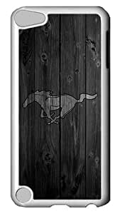 iPod 5 Cases, iPod Touch 5 Cases - White MUStang White Plastic Bumper Case Hard Back Cover Case for Apple iPod Touch 5/ iPod 5 , 5th Generation