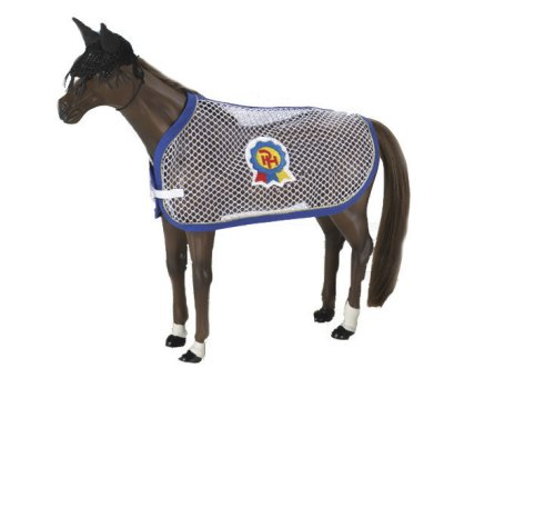 Paradise Horses Q405 Fly Bonnet And Fly Sheet Q405