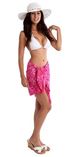 cubre rosa lib Media Sarong que Mini con twx0qP