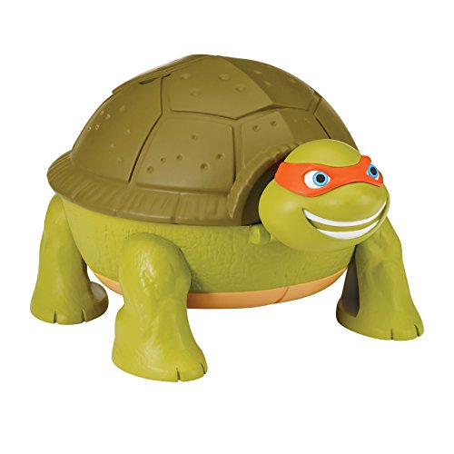 Teenage Mutant Ninja Turtles Micro Mutant Michelangelo's Skate Park Pet to Turtle Playset -
