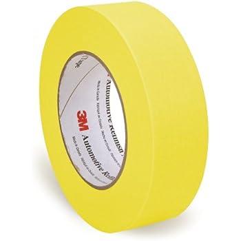 3M 06654 36 mm x 55 m Automotive Refinish Masking Tape