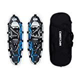 """Carryown Xtreme Light Weight Snowshoes Snow Shoes 21""""/ 25"""" / 30"""" for Men Women + Free Carrying Tote Bag, Carbon Steel Toe"""