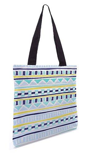 Snoogg Tribal Thorn 13.5 x 15 Zoll-Shopping-Dienstprogramm-Einkaufstasche aus Polyester-Segeltuch gemacht