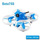 BETAFPV Beta75S Whoop Drone 1S Brushed FPV Quadcopter with F4 FC Frsky Receiver Z02 Camera OSD Smart Audio 8X20 Motor for Tiny Whoop FPV Racing For Sale
