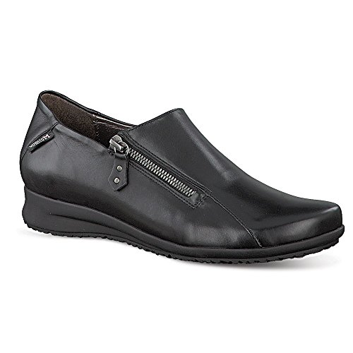Mephisto Women's Faye Slip-On,Black Leather,US 9.5 M by Mephisto