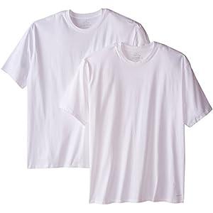 Best Epic Trends 41fcnrBPjvL._SS300_ Calvin Klein Men's Big and Tall Cotton Classics 2 Pack Crew Neck Tshirts