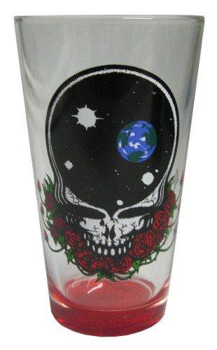 Grateful Dead ~ Spacerose ~ Pint Glass