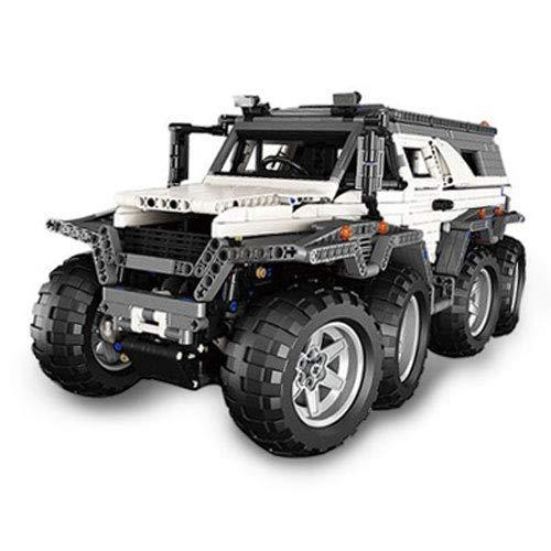 Mogicry Ingeniería mecánica técnica Coche de juguete Sabiduría beneficiosa Bloques de montaje 2959 Piezas Bloques de...