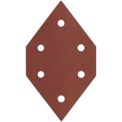 PORTER-CABLE 767601505 150 Grit Diamond-Shaped Hook & Loop Profile Sanding Sheets (5-Pack) Model: 767601505 Tools & Home Improvement