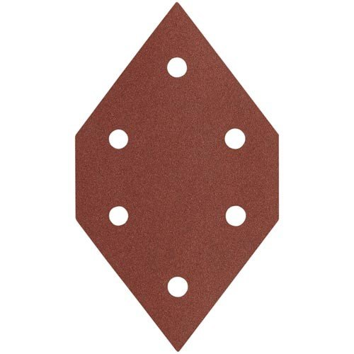 PORTER-CABLE 767601205 120 Grit Diamond-Shaped Hook & Loop Profile Sanding Sheets (5-Pack) Model: 767601205 Tools & Home Improvement