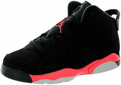 brand new be0ee eea0b Jordan Nike Kids 6 Retro Bp Black/Infrared 23/Black Basketball Shoe 13 Kids