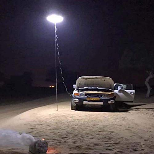 Beyonds Camping Lantern - Outdoor Telescopic COB Rod Camp Lamp LED Desert Prairie Camp Light, for Hiking Patio BBQ Grill Party Tent Garden, Waterproof Tent Lamp, Fishing Lights, Beach Travel Light