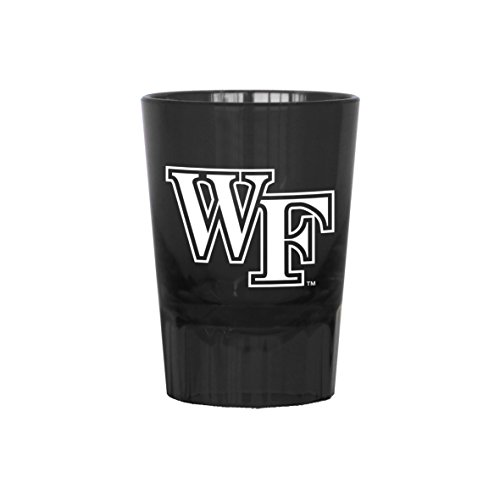 Boelter Brands NCAA Wake Forest Demon Deacons Plastic Shot Glass, 2-Ounce