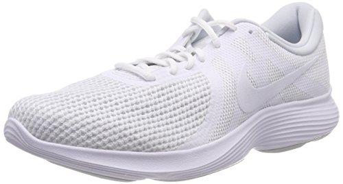 white 4 Homme Chaussures Running 100 white pure Platinum Blanc Nike De Revolution UqB0fwR