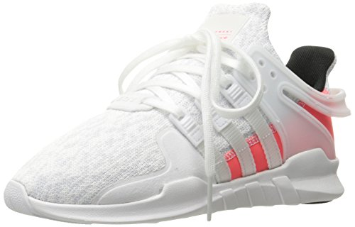 Adidas Originals Girls Eqt Support Adv C Sneaker  White White Turbo Fabric  3 M Us Little Kid
