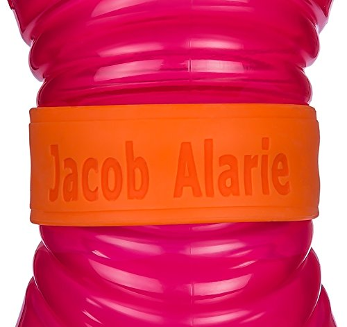 Customized Orange Blue or Pink 4 Pack Baby Bottle Sippy Cup Labels Great for Daycare Personalized Bands