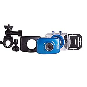 Vivitar Action Video Camcorder with 1-Inch LCD Screen, Blue (DVR782)
