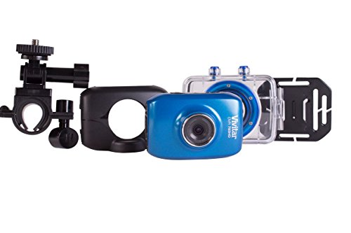 Vivitar Action Video Camcorder with 1-Inch LCD Screen, Blue (DVR782) by Teenage Mutant Ninja Turtles