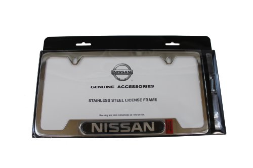 Nissan Genuine Accessories 999MB-SV000 License Plate Frame (Frame Nissan License Plate)