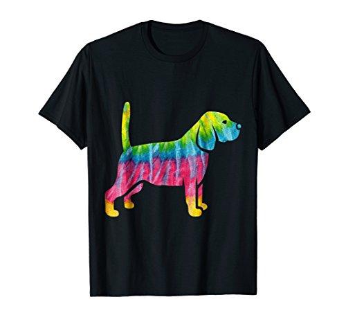 Graphic Tie Die American Water Cocker Spaniel Shirt