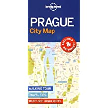 Lonely Planet Prague City Map 1st Ed.