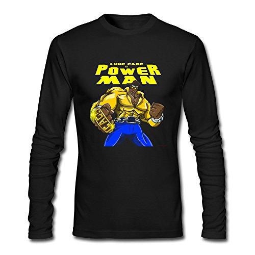 JUST Men's Superhero Luke Cage Is Power Man T-Shirts