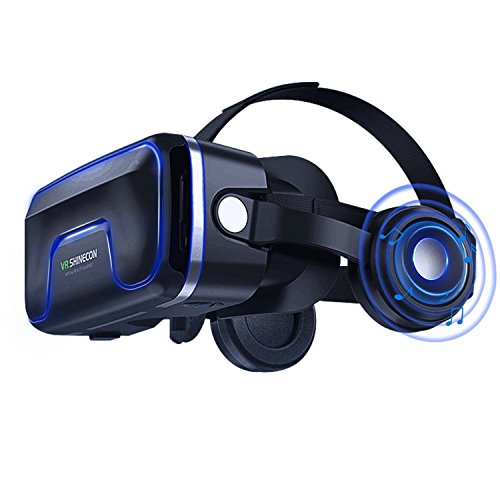 66c6cb3d45c VR Headset Virtual Reality Headset 3D VR Goggles - Compatible for iph X 7 7