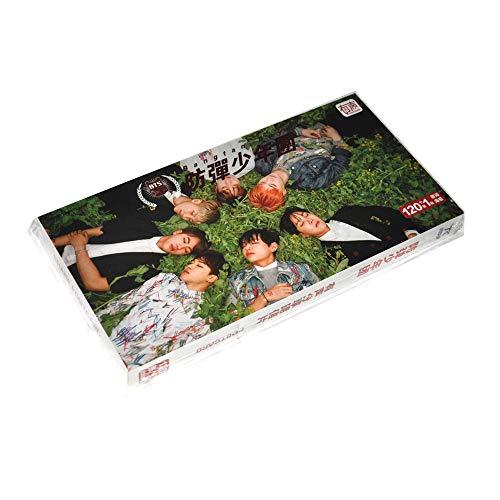 KPOP BTS Photo Album Bangtan Boys 60 Pictures Postcards + 60 Stickers ()