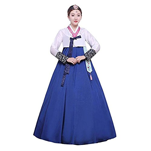 Ez-sofei Women's Korean Traditional Costumes Hanbok Dancing Dresses