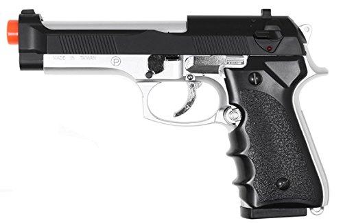 hfc model-118ebs m9 elite heavy weight spring pistol / dual tone(Airsoft Gun)